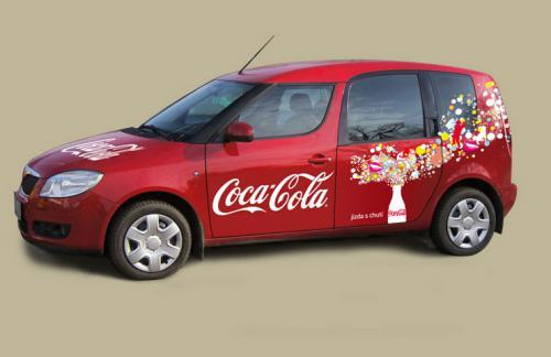 pr Coca-Cola -roomster